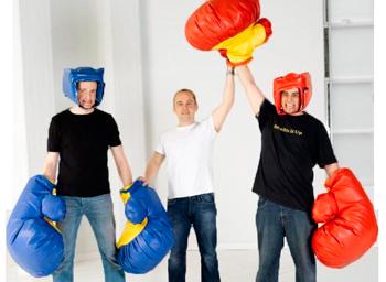 Kæmpe boksehandsker